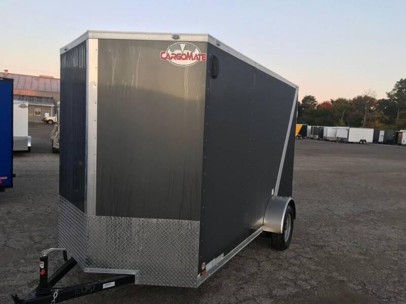 "2020 CARGO MATE W/12"" EXTRA HIGHT 6X12 W/ RAMP DOOR LANDSCAPE TR"