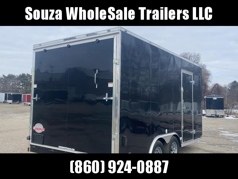 2021 Cargo Mate EHW816TA2 8.5x16 Enclosed Cargo Trailer