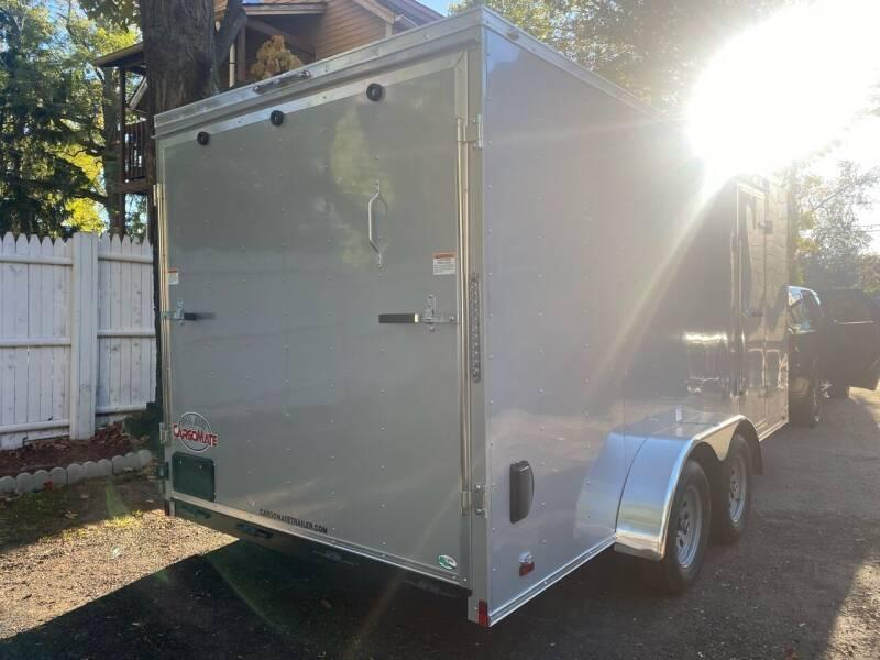 """2021 CARGO MATE 6"""" EXTRA HIGHT 7 X 16 LANDSCAPE TRAILERS"""