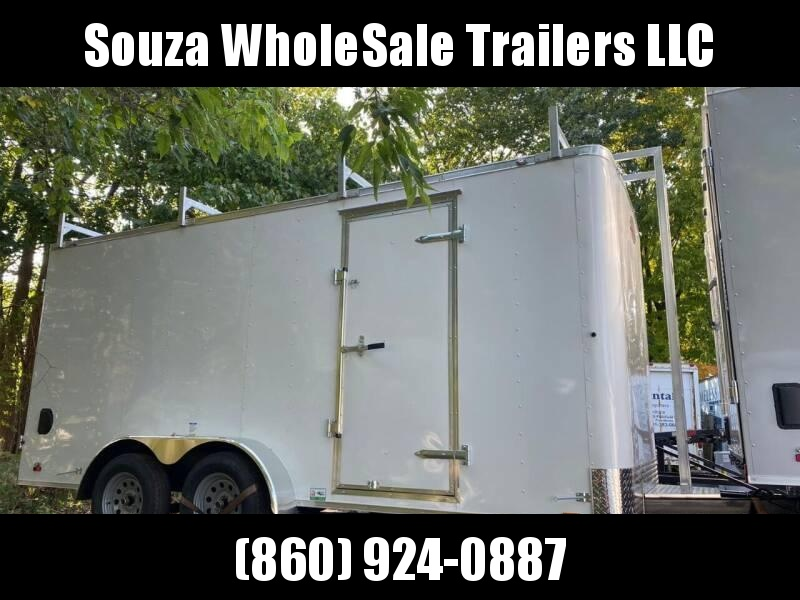 2020 CARGO MATE 7 X 16 CONTRUCTION TRAILERS
