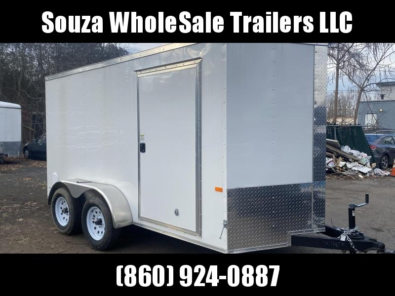 2021 Rock Solid Cargo 6 x 12 TA W/RAMP DOOR TENDEM AXLE Enclosed Cargo Trailer