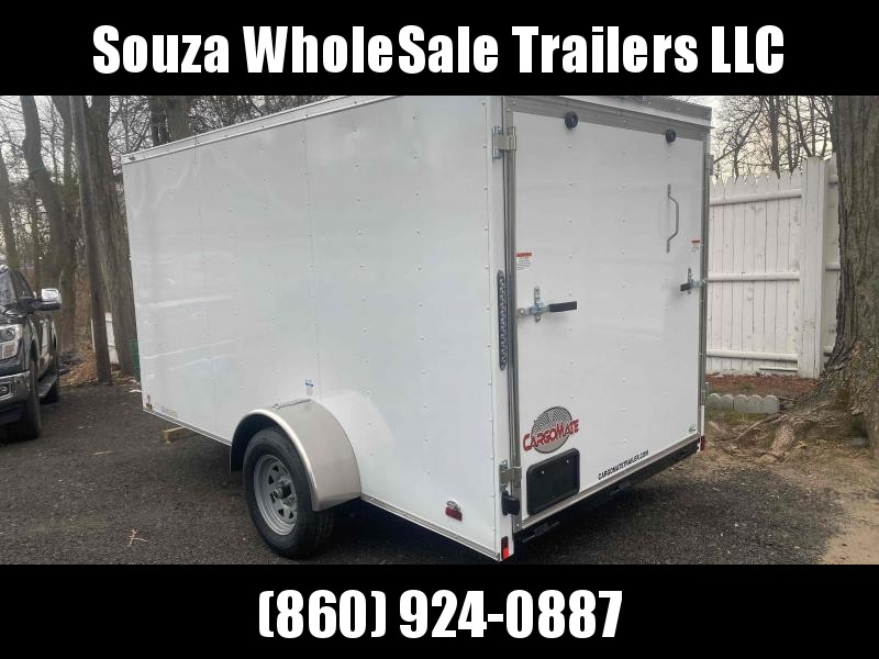 2021 Cargo Mate SSV612SA 6x12 w/ ramp door Enclosed Cargo Trailer