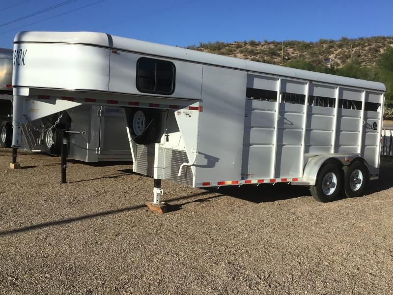 2021 Maverick 3 Horse High-Side Horse Trailer