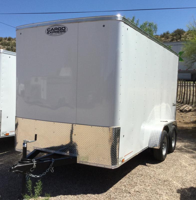 2020 Cargo Express 7x14 Utility Trailer