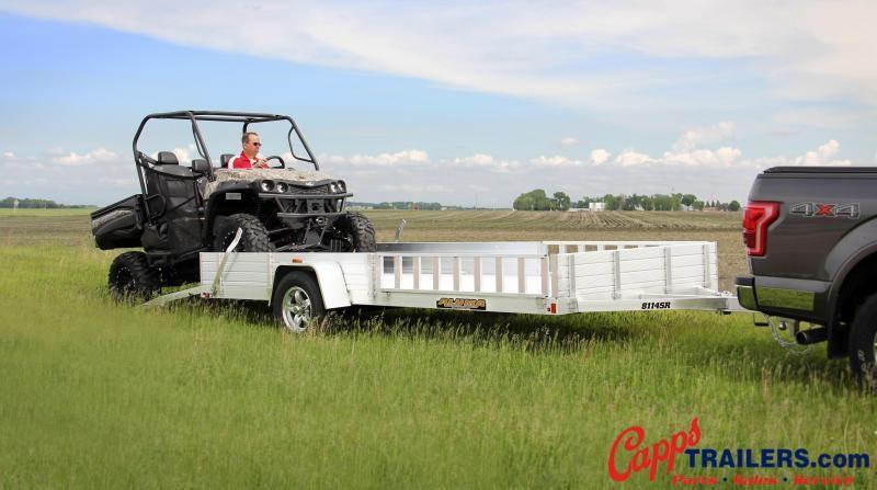 2021 Aluma AL 8114SR ATV Trailer