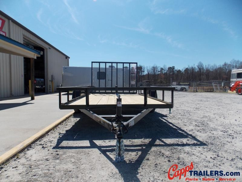 2021 Carry-On CO 6X12GWH-BLK Utility Trailer