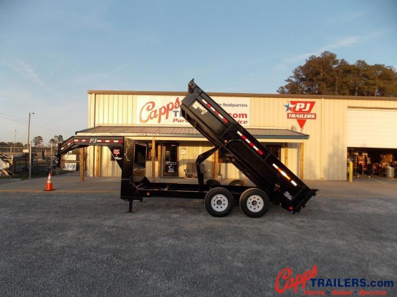2020 PJ Trailers PJ DLR1472BDSK-DR02-RS01 Dump Trailer