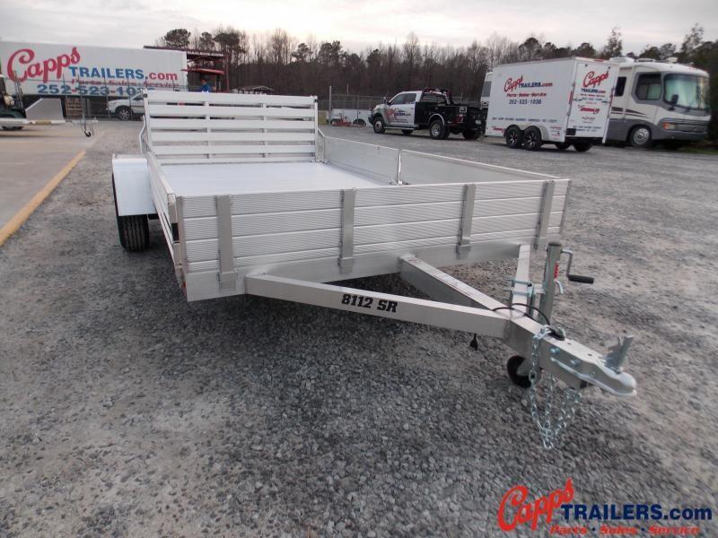 Aluma 8112S-R-BT-SR Utility Trailer