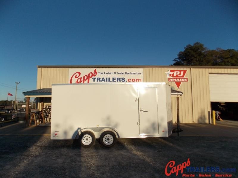 2021 Freedom Trailers FD 7X16TA2-VN+12 Enclosed Cargo Trailer