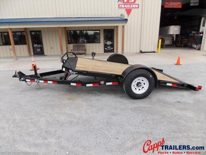 2020 PJ Trailers T1J1371BDTKT Vehicle Tilt Deck