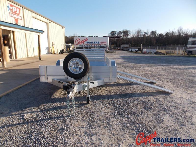 2021 Aluma AL 8116TA-EL-R-BT-SR Utility Trailer