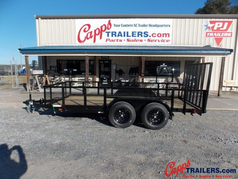 2021 Carry-On CO 6x14GWHS1BRK Utility Trailer