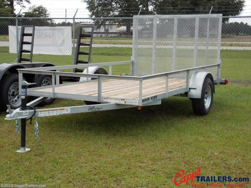 2020 Road King RK 6x12GUT Utility Trailer