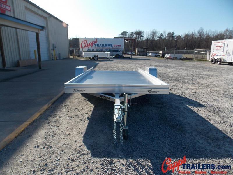 2021 Aluma 7812ESA-S-TG Utility Trailer