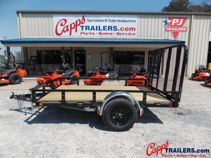 2021 PJ Trailers U721031DSFK Utility Trailer