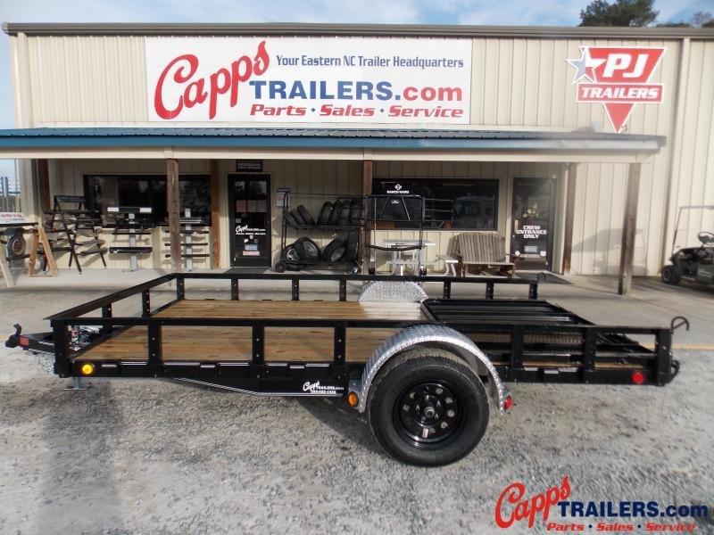 2021 PJ Trailers U721231DSFK Utility Trailer