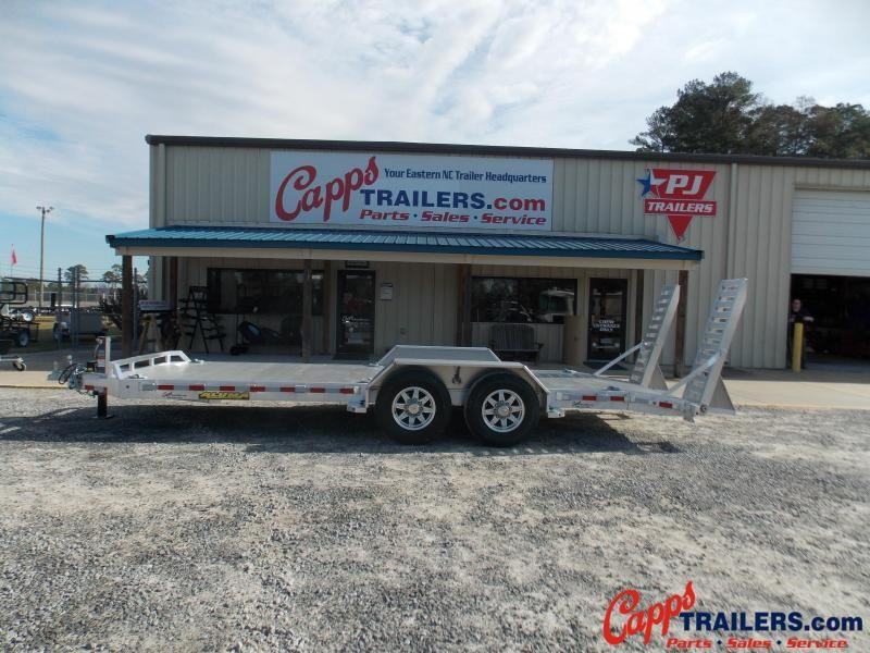 2020 Aluma 8220-14K-TA-EL-R-DT-RTD Equipment Trailer