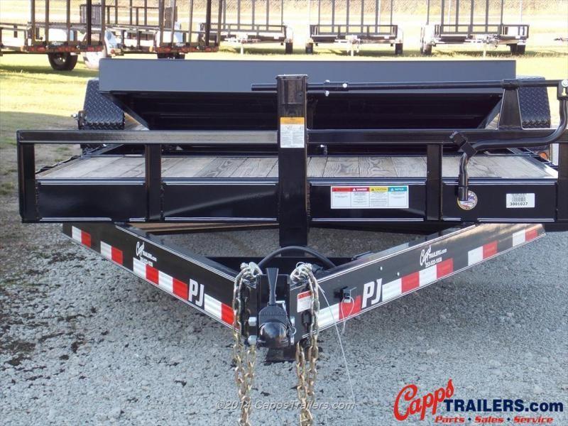 2022 PJ Trailers T6J2072BTTKT Tilt Deck