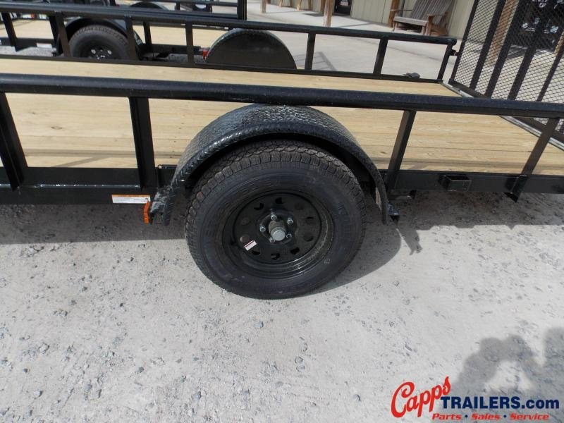 2020 Carry-On CO 6X14GWPTLEDNT Utility Trailer