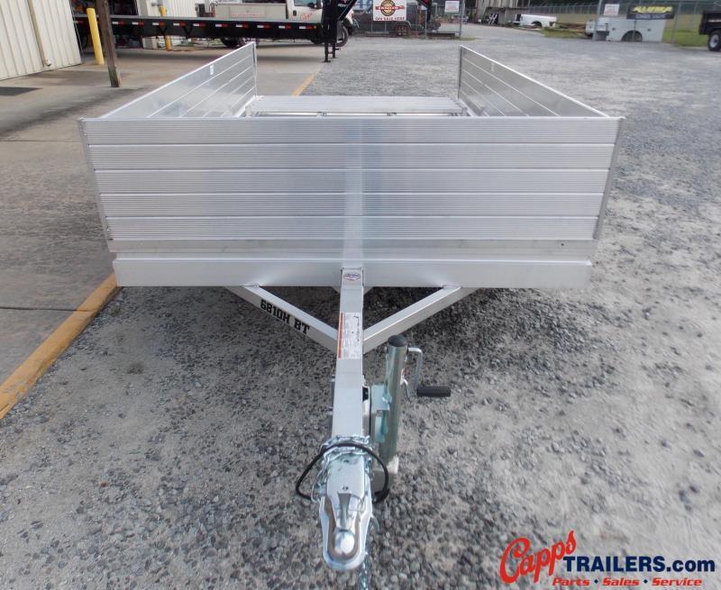 "2021 Aluma 6810H-S-BT Utility Trailer 24"" Solid Sides"