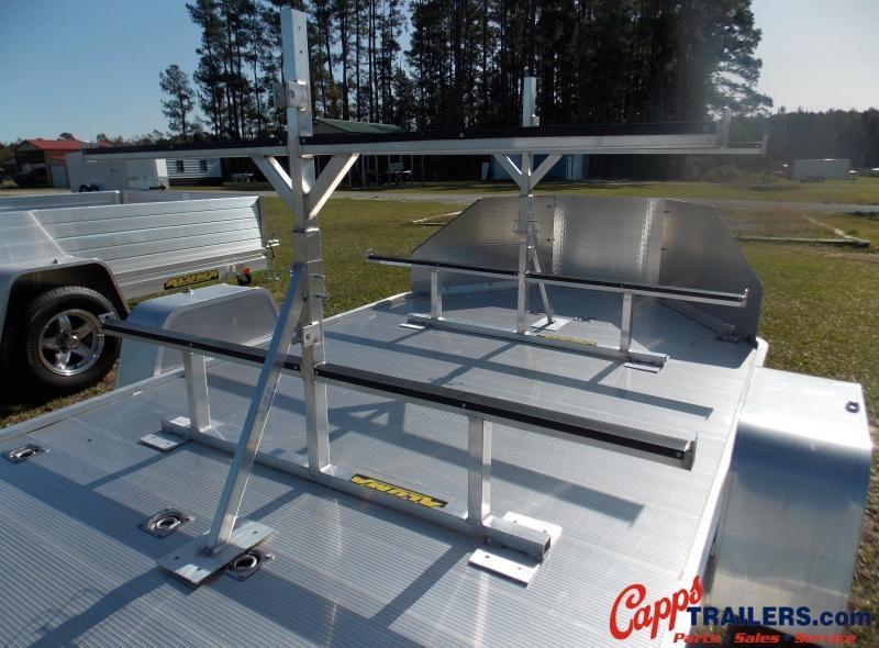 Aluma AL 20-0000065 CANOE RACK For Utility Trailer