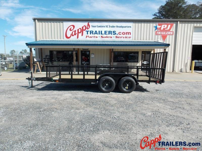 2021 Carry-On CO 6x16GWHS1BRKBLK Utility Trailer