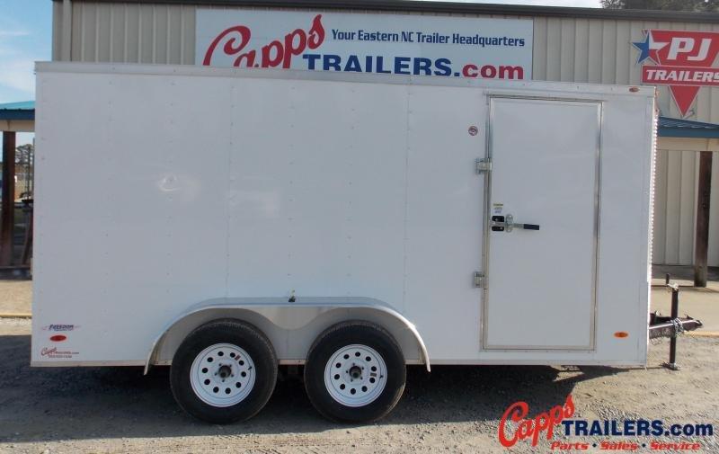 2021 Freedom Trailers FD 7X14TA2-VN+3 Enclosed Cargo Trailer