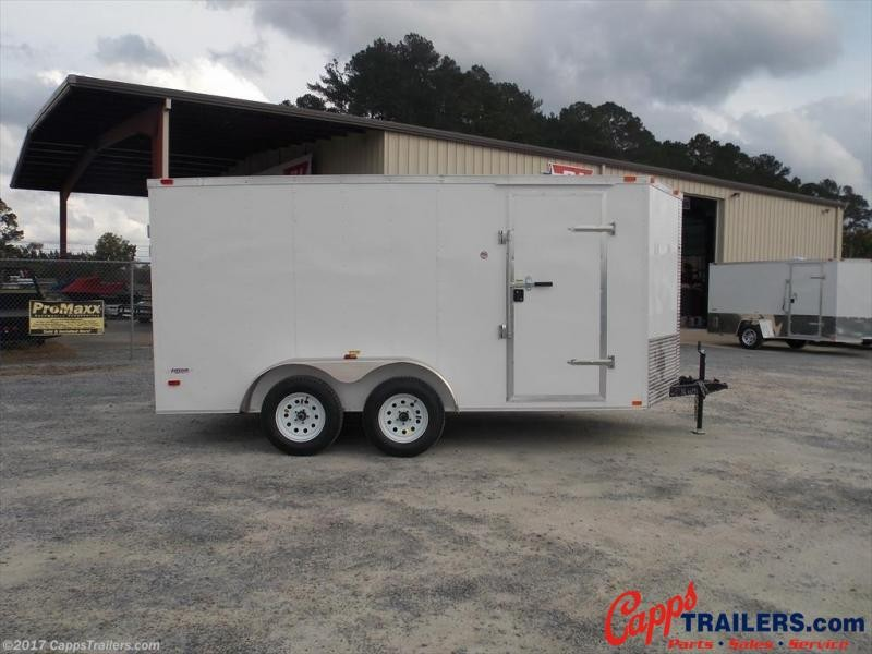 2021 Freedom Trailers FD 7X14TA2-VN+3 Enclosed Cargo Trailer