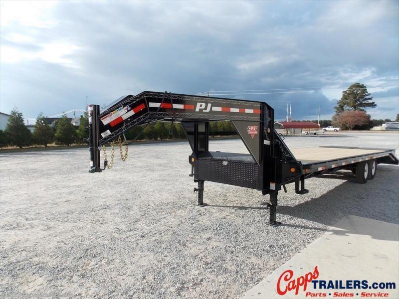 2020 PJ Trailers LSR2872BSWK Flatbed Trailer