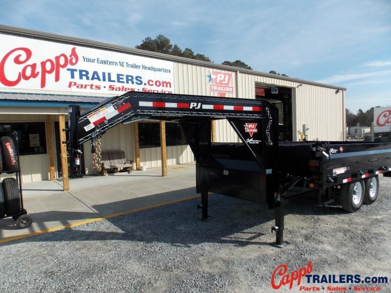 2018 PJ Trailers DTR1472BSSK02P Dump Trailer