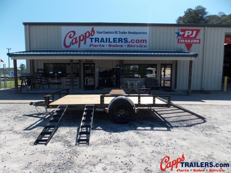PJ 2021 Trailers U821231DSFKA Utility Trailer