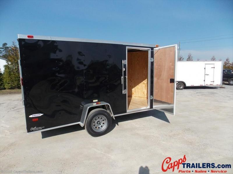 2020 Freedom Trailers 6X12SA-VN Enclosed Cargo Trailer