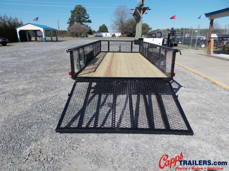 2020 Carry-On CO 6x16GWHS1BRKBLK Utility Trailer