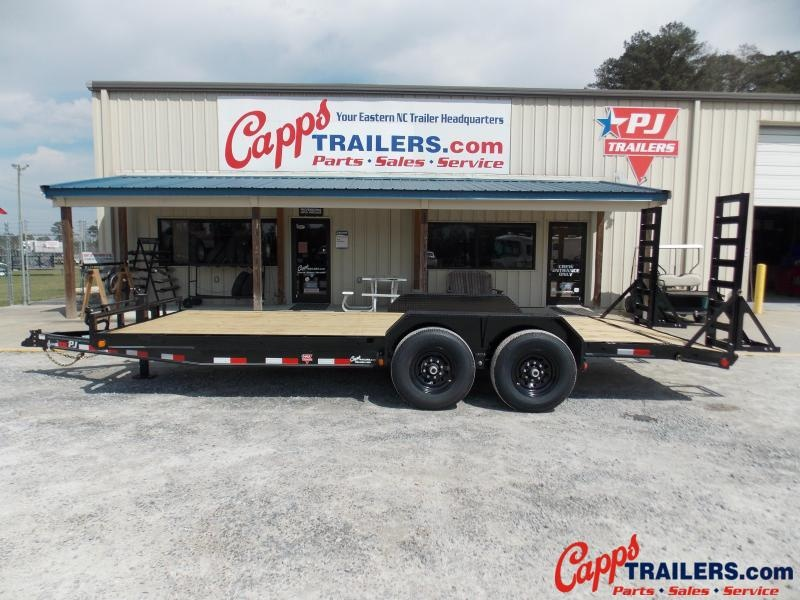 2021 PJ Trailers PJ CCJ2072BSBKBT Car Trailer
