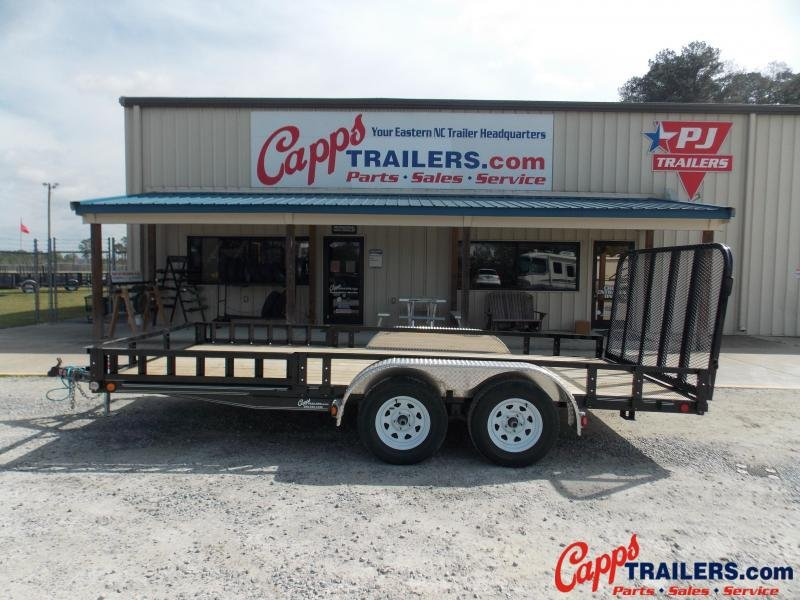 2021 PJ Trailers UL21632CSFKA ATV Trailer