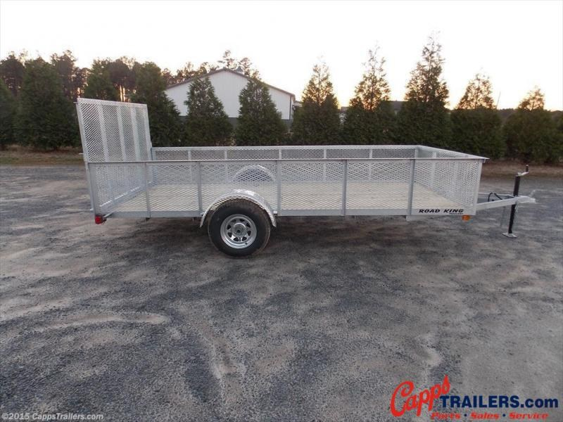 2020 Road King RK 6x12GUT2M Utility Trailer