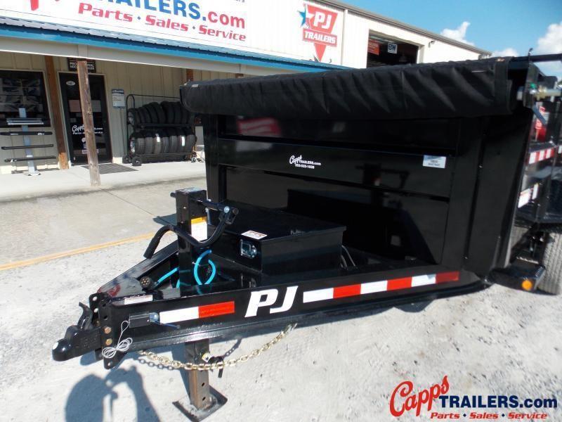 2022 PJ Trailers PJ DLA1672BSSK-RS01 Dump Trailer