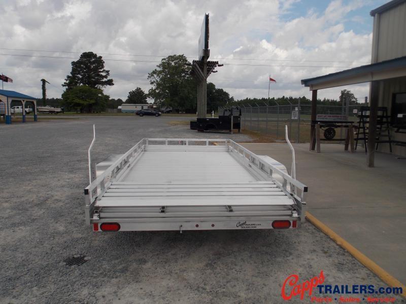 Aluma AL 7816TA-EL-R-TR-RTD Utility Trailer