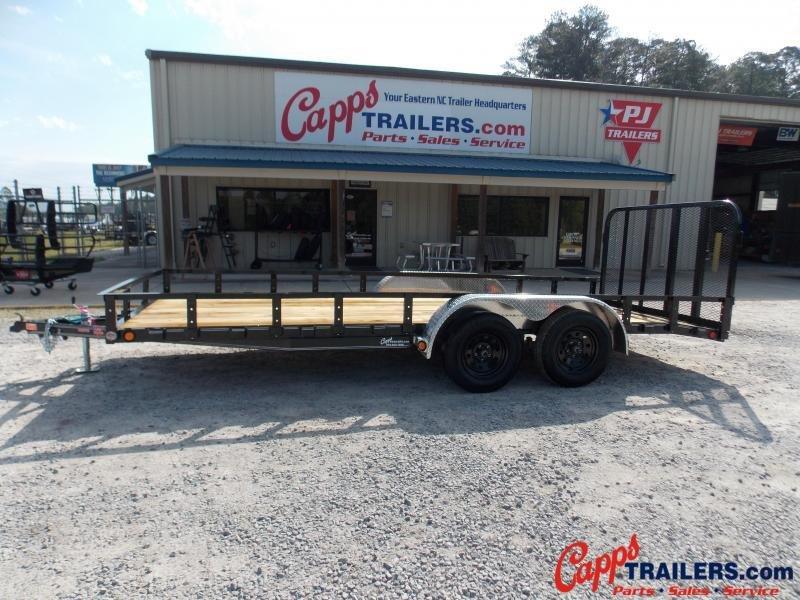 2021 PJ Trailers PJ UL21832CSBK Utility Trailer