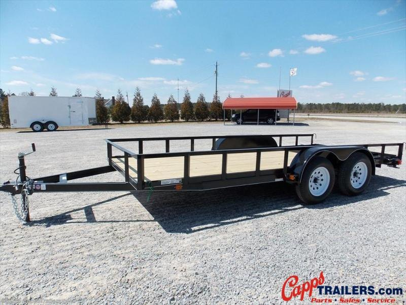 2020 Carry-On CO 6X16GW1BRK Utility Trailer