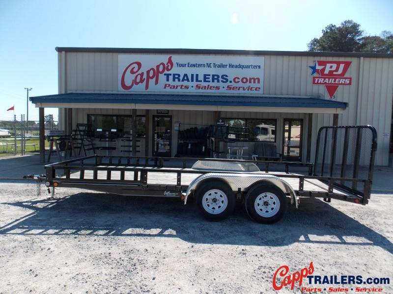 2020 PJ Trailers UL21832CSBKA ATV Trailer