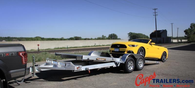 2020 Aluma AL 8218HTILT Car / Racing Trailer