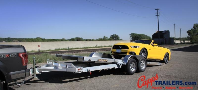 Aluma AL 8218HTILT Car / Racing Trailer