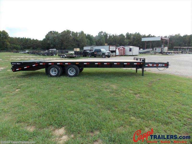 2020 PJ Trailers PDP25A2BSWK Flatbed Trailer