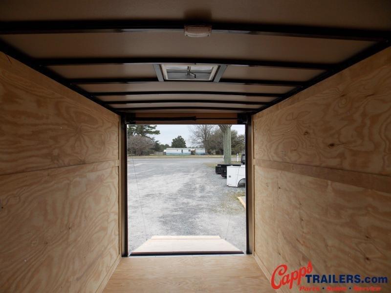 2021 Freedom Trailers FD 6X12TA2-VN+12 Enclosed Cargo Trailer