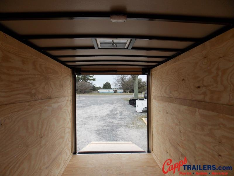 2021 Freedom Trailers FD 6X12TA2-VN+12 Enclosed Cargo Trailer