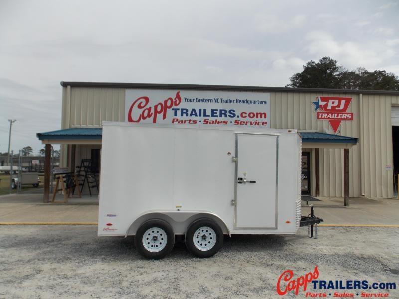 2021 Freedom Trailers FD 6X12TA2+12-VN Enclosed Cargo Trailer