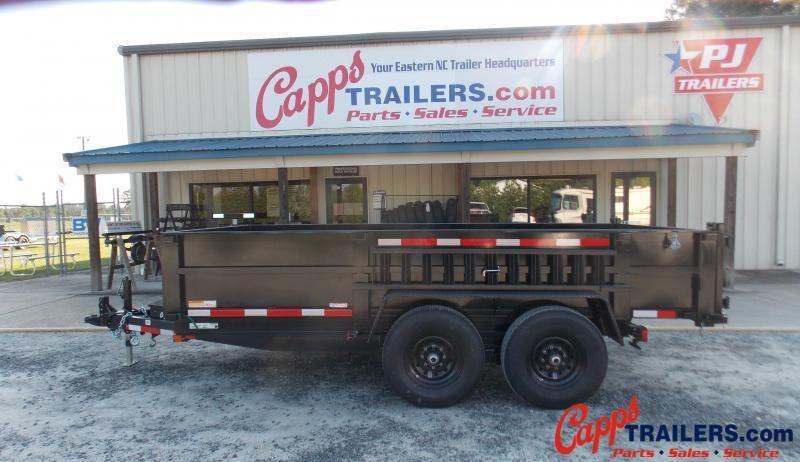 2021 Carry-On CO 7x14DUMPLP14K-24HS-14K LP Dump Trailer
