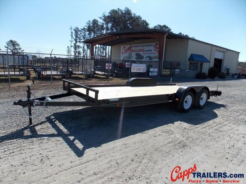 2021 Carry-On CO 7X18CH1BRK 18' Car Hauler