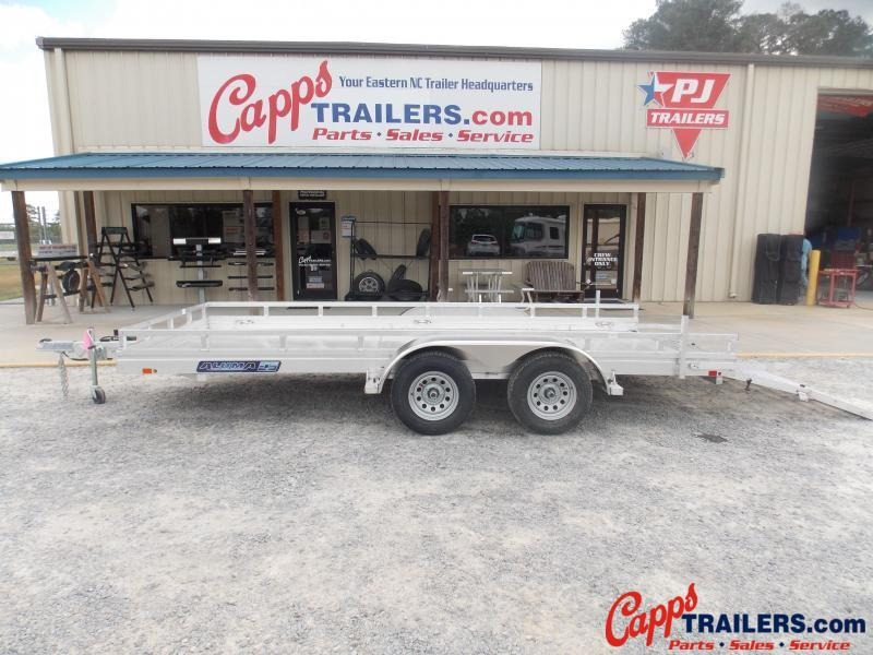 2022 AL 7816ESA-TA-EL-BT UTILITY TRAILER LADDER RACK